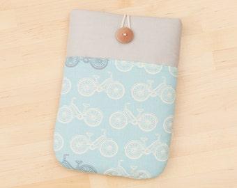 kindle case  / Nexus 9 case / kindle sleeve / kindle voyage case / kobo Glo case - bicycles in grey -
