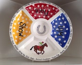 KY Derby sectional serving platter