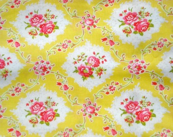 SALE : Kayla yellow Dance With Me Jennifer Paganelli Very Rare Fat Quarter or more