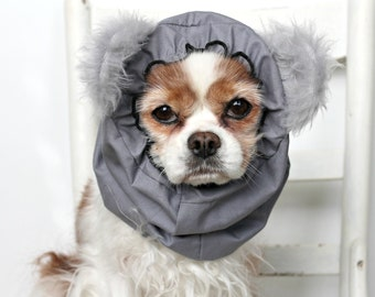 Koala Bear Dog Snood / Specialty Dog snood / Cavalier or Cocker long ear covering / Pet Costume