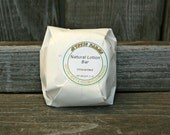 Unscented Natural Lotion Bar