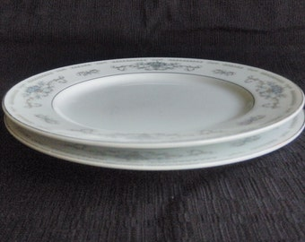 W Fine Porcelain China Diane From Japan 2 Bread Plates