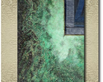 Copper Wall - Fine Art Print on heavy Cotton Canvas - unframed