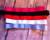 Add on Elastic headband with loop for bow