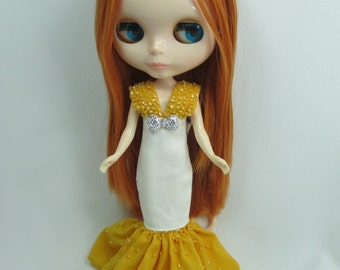 Outfit costume dress for Blythe doll 400