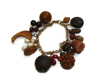Vintage Boho Charm Bracelet