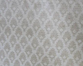 CALAIS CHALK  designer fabric, curtain/bedding/multipurpose