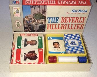 1960s The Beverly Hillbillies Set Back Hillbilly Bridge game