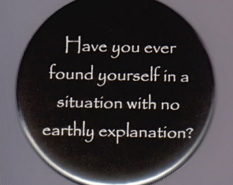 Mysterious Explanation Button