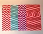 Made in America Fabric Traditions Polka Dot & Chevron Charm Pack