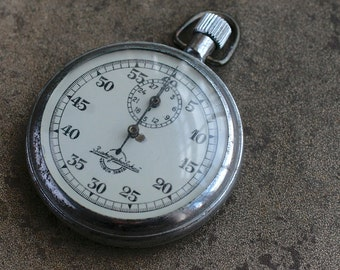 Vintage Soviet Russia stopwatch chronometer -- Agat -- NON WORKING -- D18