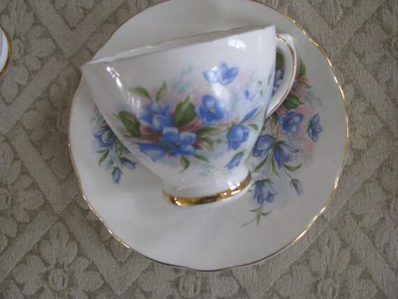 royal sutherland fine bone china tea cup and saucer