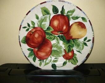 4 Sonoma Salad/Dessert Plates ( Fruits ) - Only Charging For 3 - See Description