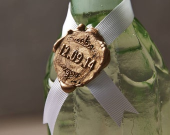 Personalised Wedding Date Wax Seal Stamp