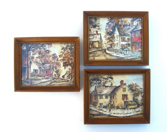Small Framed Art Etsy