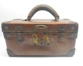 RESERVED for bkmdano DONOT Purchase!!! RESERVED! Antique Leather Carry Case