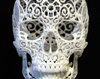"Skull Sculpture ""Crania Revolutis"" (small)"