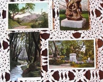 4 BERKELEY Postcards Strawberry Canyon University of California Berkeley