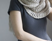 On SALE Its A Wrap Chunky Wool Scarf
