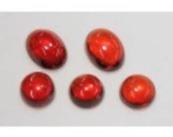 Hessonite Garnet Cabochons