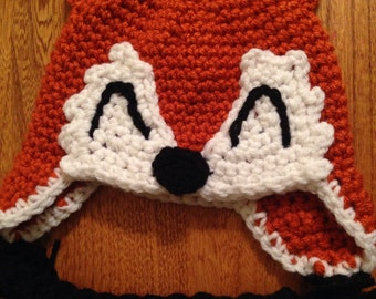 What Does The Fox Say Crochet Hat