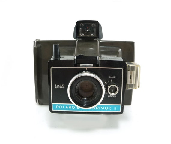 polaroid colorpack ii land camera from reconstitutions on etsy studio. Black Bedroom Furniture Sets. Home Design Ideas
