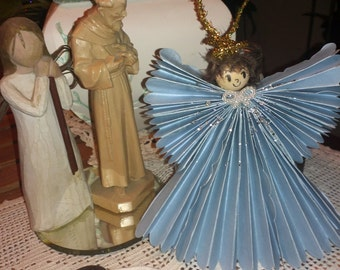 Christmas Angel Ornament Comes With a Box for Gift Giving and Color Choice Available Unique Gift