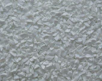 1 oz Enamel White Opal Glass Frit 96 Coe For Lampwork Glass Beads Fused Glass R-61