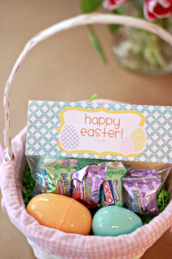IMMEDIATE Download-Easter Treat Bag Tags: Easter Eggs - Printable PDF
