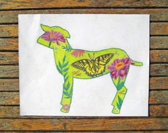 Charity Donation - Goat Art - Goat Illustration - Goat Decor - Farm Art - Farm Decor - Farm Animal - Farmhouse Art - Farmhouse Decor - Goat
