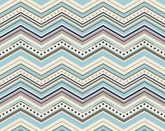 Fabric, cotton fabric, fabric by the yard, Multi Chevron Fabric super soft, Ships Today