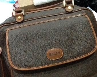 Vintage Genuine BALLY Bag BALLY Purse Italy Leather Purse