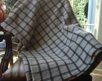 Woven Merino Queen Blanket