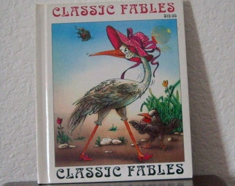 Childrens Book: CLASSIC FABLES, The Fables of La Fontaine, hardcover, 1992