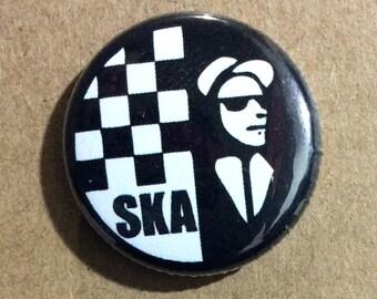 """1"""" Button - SKA"""