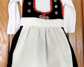 Baby bunad ALL BABY SIZES (Norwegian inspired dress)