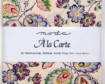 A la Carte - Charm Pack by American Jane for Moda Fabrics
