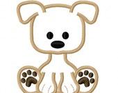 Digitizing Dolls Puppy Dog Applique Machine Embroidery Design 4x4 5x7 6x10 INSTANT DOWNLOAD