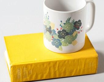 MUG Coffee Mug Ceramic Mug Printed Mug Tea Drinking Kitchen Flowers