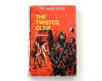 hardy boys the twisted claw He found inspiration for malone in the hardy boys classic, the twisted claw,  which he received as a christmas present as a boy berry vividly remembers  being.