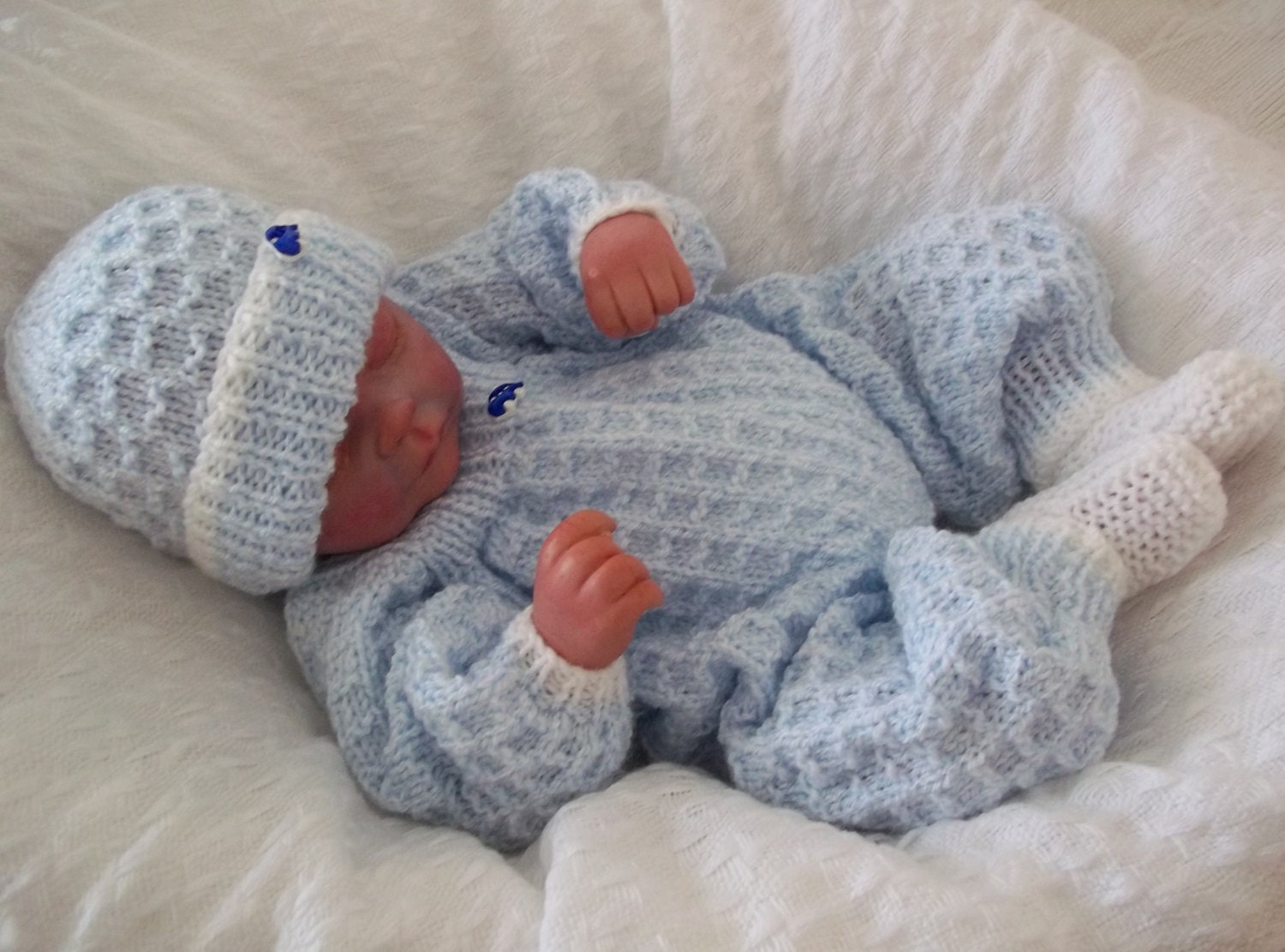 Baby knitting pattern romper hat bootees download pdf zoom bankloansurffo Images
