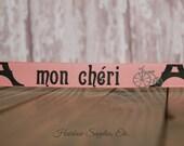 Mon Cheri Paris Eiffel Tower 5/8 Printed Grosgrain Ribbon - High Quality