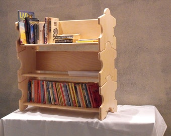 "Stackable, dorm room bookcase, set of 3 and 30"" wide"