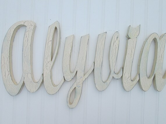 Decorative Wall Letters Wooden Wall Letters By Southernmadesigns