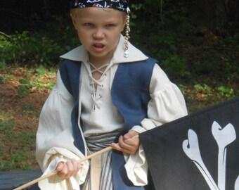 E115   Awesome Pirate Renaissance Sash Belt Adult