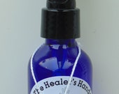 Finding My Om ~ Manifestation Spray ~ 2 oz Blue Glass Spray Bottle ~ Reiki Charged