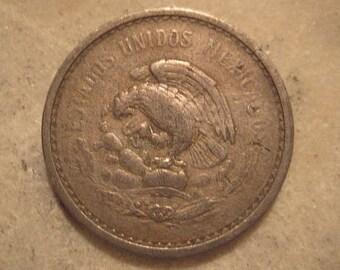 Mexico, 1942, 10 Centavos Coin