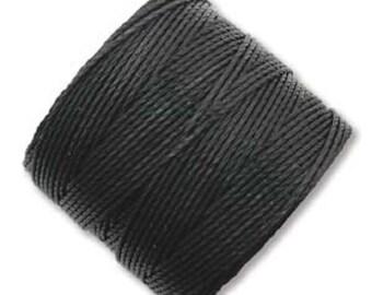 S-lon Bead Cord Tex210 nylon Black