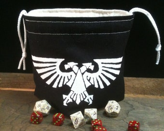 Imperial Eagle Dice Bag