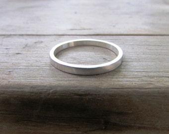 silver ring thin silver ring dainty silver ring stacking ring silver rings silver wedding ring weddng band